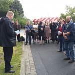 Bündnis gegen Rechts: Gedenkveranstaltung für Rick L.