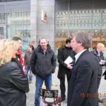 Die Stadträte im Gespräch mit SPD-Spitzenkandidat zur Landtagswahl 2011 Jens Bullerjahn