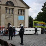 """Gemeinsam gegen Rechts """"Magdeburg ist bunt nicht braun"""""""