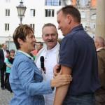 Beate Wübbenhorst, Rainer Paulick und Burkhard Lischka, MdB