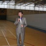 Feierliche Übergabe der Mehrzwecksporthalle an der MDCC-Arena
