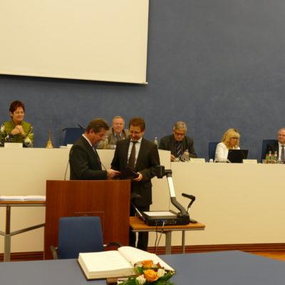 Verleihung Ehrenstadträte