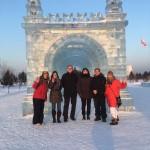 Reisedelegation nach Harbin (Stadträtin Birgit Steinmetz (1.v.l.) und Kulturbeigeordneter Prof. Dr. Matthias Puhle (3.v.l.))