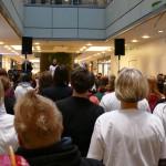 Anweisungen zum Dance-Flashmob