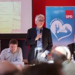 v.l.n.r. Stadtrat Jens Hitzeroth und SPD-Süd-Ortsvereinsvorsitzender Wolfgang Beck ©Fo-To-Design Steph