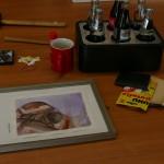 Vorbereitung für die neue Ausstellung
