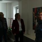 Die neue Ausstellung wird von der Künstlerin Janette Wilke vorgestellt