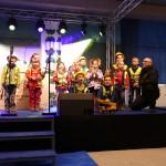Bühnenprogramm für das Richtfest