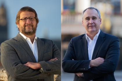 Dr. Thomas Wiebe und Jens Rösler