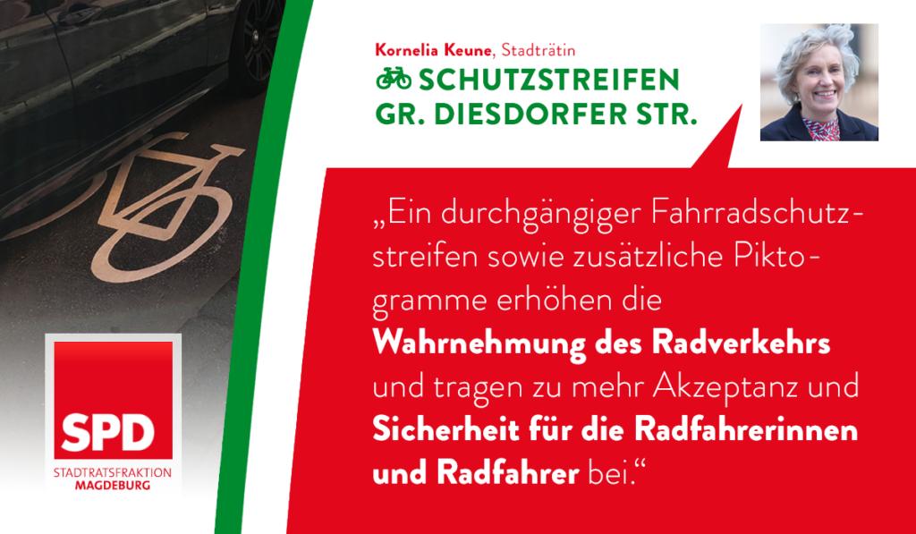 Sicherheit für Stadtfelds Radverkehr