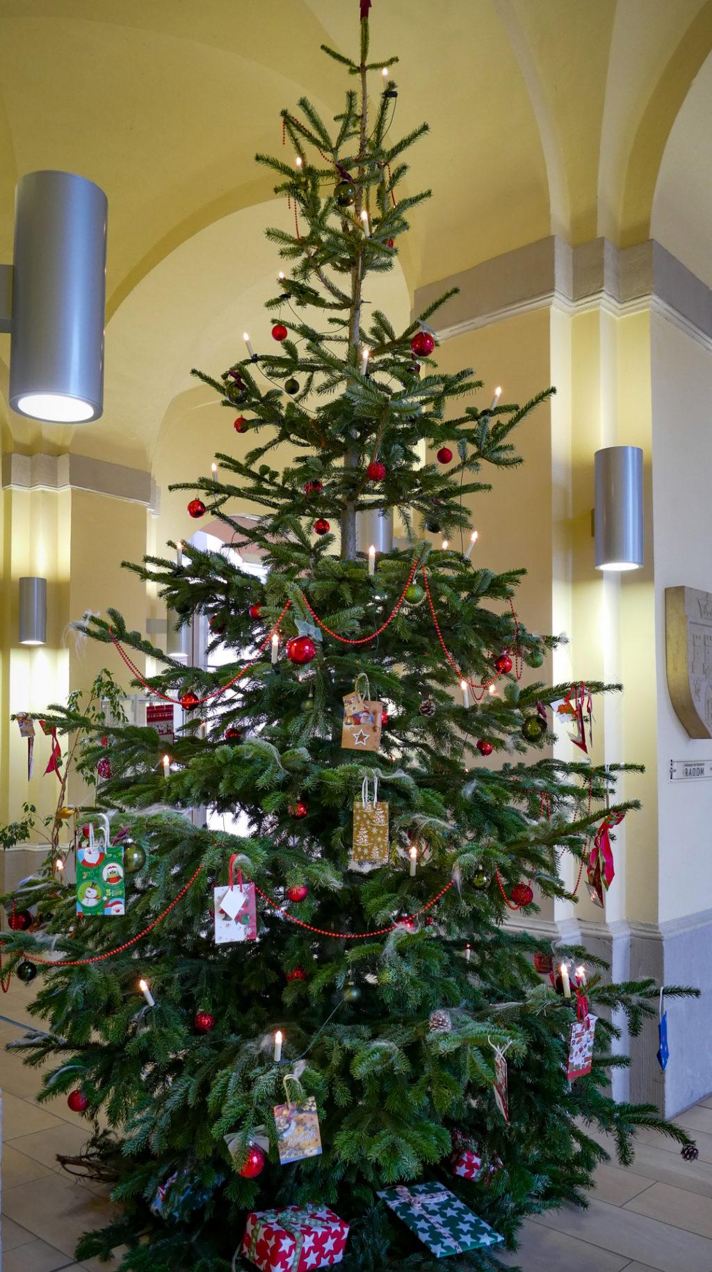 """Kleine Wünsche werden wahr - die diesjährige Aktion """"Wunschweihnachtsbaum"""" ist gestartet"""