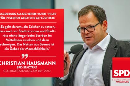 Stadtrat Christian Hausmann