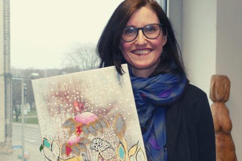 Künstlerin Peggy Ohmke